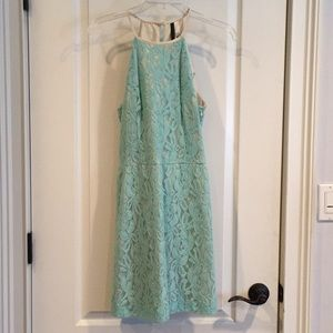 Kensie Blue Lace Dress